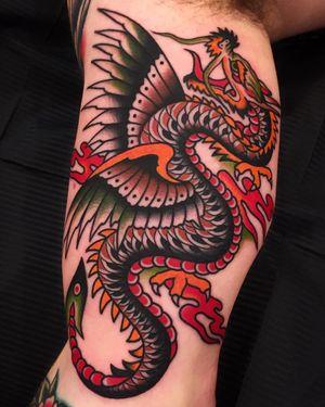 Dragon by Samuele Briganti