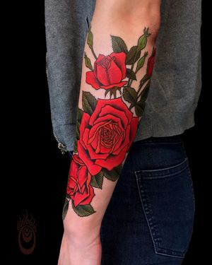 Roses from Brian MacNeil