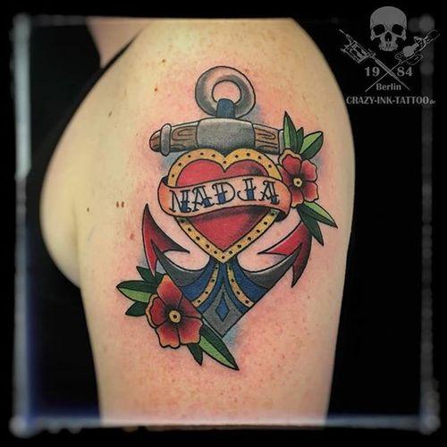 Mal etwas #traditionaltattoo oder auch #oldschooltattoo @raikpillmann Infos wie immer 017627112764 auch WhatsApp... http://crazy-ink-tattoo.de http://facebook.com/crazy.ink.tattoo.berlin http://instagram.com/crazy.ink.tattoo.berlin  #tattoo #tattoos #berlin #tattooberlin #berlintattoo #tattoomoabit #crazyink #crazyinkberlin #crazyinktattoo #crazyinktattooberlin #instagood #nofilter #photooftheday #inked #tattooed #tattoist #tatted #instatattoo #bodyart #tatts #amazingink  #berlintattooartist #berlintattooartists #colortattoo #classpen #worldfamousink #anchortattoo #hearttattoo