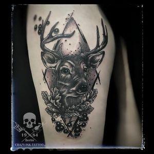 Mal ein #rendeertattoo oder auch #deertattoo @raikpillmann Infos wie immer 017627112764 auch WhatsApp... http://crazy-ink-tattoo.de http://facebook.com/crazy.ink.tattoo.berlin http://instagram.com/crazy.ink.tatto.berlin #tattoo #tattoos #berlin #tattooberlin #berlintattoo #tattoomoabit #crazyink #crazyinkberlin #crazyinktattoo #crazyinktattooberlin #instagood #nofilter #photooftheday #inked #tattooed #tattoist #tatted #instatattoo #bodyart #blackngrey #amazingink #berlintattooartist #berlintattooartists #blackngreytattoo #classpen #worldfamousink #dotworktattoo #abstracttattoo