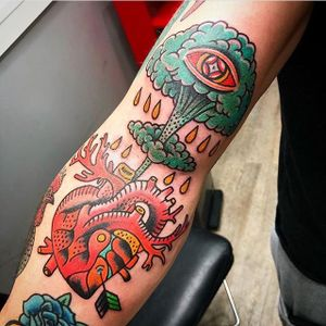 Tattoo by Circus tattoo