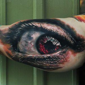 #realistic #hyperrealism #eye #fullcolor #DenYakovlev