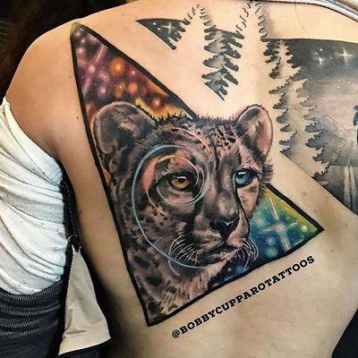 By Bobby Cupparo #nyc #cheetah #cosmic #creative #bobbycupparo