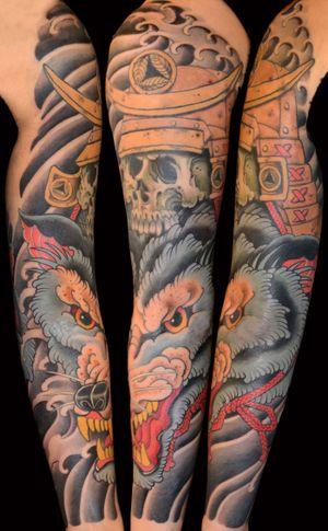 #wolf #samurai