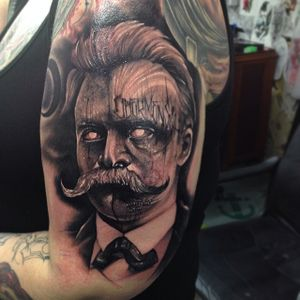 That's a very dark, even scary portrait by Anrijs Straume!