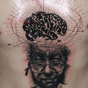 #CsabaMullner #science #brain #blackwork