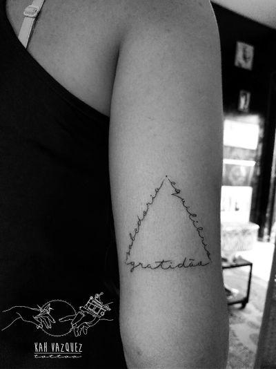 By @KahVazquezTattoo #KahVazquezTattoo #Tattoo #Tattoos #Tatuagem #Tatuagens #tatuagensfemininas #TatuagemFeminina #TattooFeminina #tatuagensdelicadas #Tatuagensparamulheres #Tatuadora #ink #inked #Tatuadores #TraçoFino #LinhasFinas #FineLine #Finelinetattoo #InstaTattoo #Tattoo2me #mehndi #Tattoodo #Tattoosincriveis #TattooNova #tattooidea #artoftheday #Ornamental #Mehndi #Mandalas #triangletattoo #triangle #frases #Gratidão #yoga