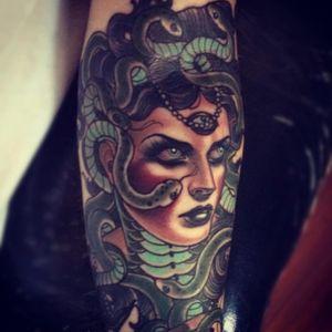 #emilyrosemurray #ladyhead #medusa #snake