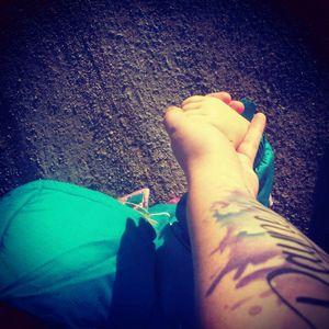 I'm a tattooed mommy! 😍❤