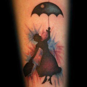 #Tattoodo#blackwork#aquarelltattoo#Brooklyntattoo#marypopins