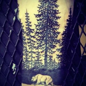 Have spotted few of these dope tattoos. #Wildernes #Nature #Forest #Tree #Wrist