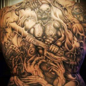 Hell tattoo