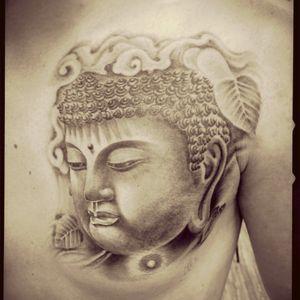 #buddha #thai #blackandgrey  #blackandgreytattoo #buddhainspiredtattoos