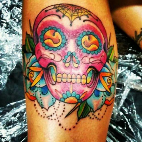 Sugar skull by Ozzie