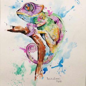 #painting #aquarela #watercolor #drikalinas #Brasil #brazil
