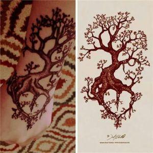 #tree #heart #nature #chrisbergmanntattoartist