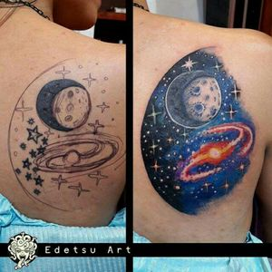 #coverup #space #planets #moon #night #stars #starrynight