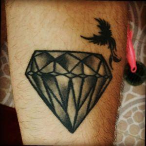 #diamondtattoo #phoenix