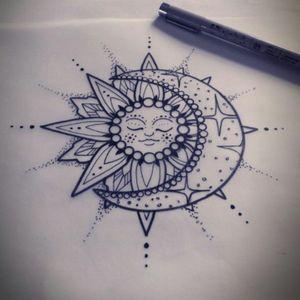 #greatdrawing #moon #sun