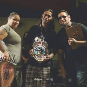 Premiação #tattoolife #inklife #inklovers #dotworktattoo #inkmaster #bestink