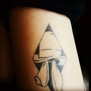 Tattoo i did on myself #practice