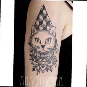#cat #dotwork #pontilhismo #pontillism