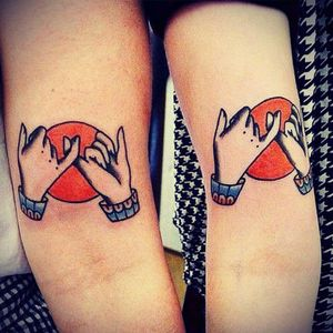 💙 #pinkypromise #bff #cute #symbolize #forearm
