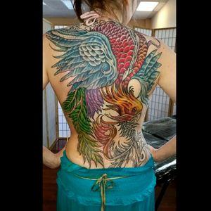 Phoenix Tattoos. More to come soon..Anchorage Alaska, #Alaska #Anchorage #Alaskatattoo #Alaskatattoos #Aktattoos #girlytattoos #girlyink #tattooedgirls #chicktattoos #chickswithink #phoenixtattoos #phoenix #supurbtattoos #dailytattoo #inkedmafia #inked #tatsoul #Tattoodo