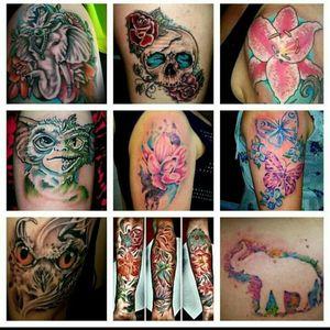 Color tattoos from Anchorage Alaska @alaskatattoos ##Tattoos #Bodyart #bestoftheday #Alaska #Anchorage #Alaskatattoo #Alaskatattoos #Aktattoos #colortattoos #Tattoodo