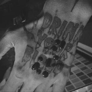 #tattoo #bloody #horror #tattoed