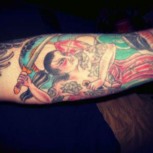By Corey Barrett @ Good Ink Tattoo, Waterbury Vermont.