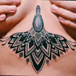 My wife's @Athina underboob tattoo. By @Raphaellopes