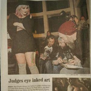 #Tattoos #Bodyart #Alaskatattoos #Aktattoos #Alaska news #Anchorage news #Judges #Tattooshow