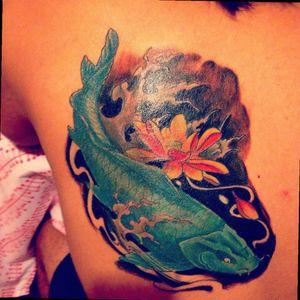 #Koifish #Tattoo #Chile