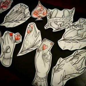 some drawings I did for a poker themed flashday.  desenhos feitos pra um flashday com o tema de poker.