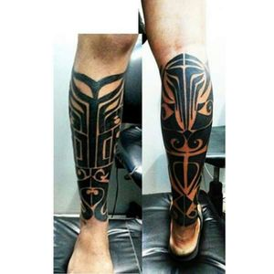 #blackwork #tatau #tattoo #maori