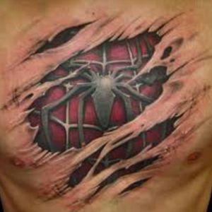 #spiderman #opticaltattoo