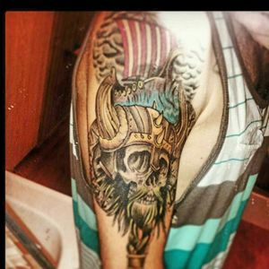 #viking #skull