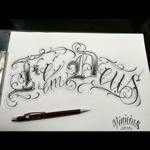 Lettering, fé em Deus, #lettering #letras #viniciusrafaellemos #horistartattoo #viniciusrlemostattoo #tattoo #letteringtattoo #escritatattoo #caligrafiamaldita #caligrafia #caligrafiamalditacrew