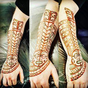 #detail #realstic #freehand #detail #tatt #tatt #tattoo #tattooartist #ink #inked #inkedlove #nopain #nopain #commentifyouwant #kent #uk #follow #polynesiantattoo #sleeve #swag