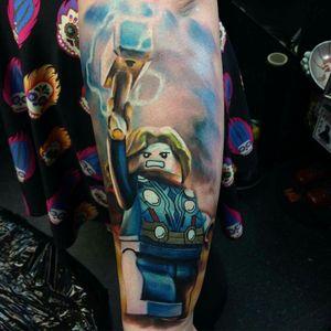 Lego Thor by Max Pniewsk #Lego #Thor #marvel
