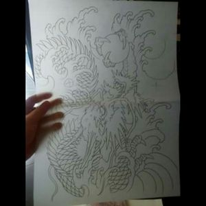 Projet Dragon, dessin.