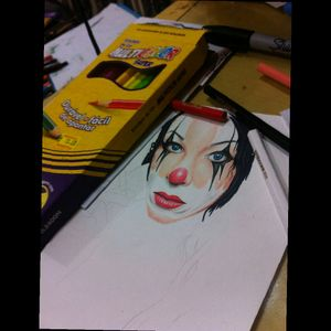 #colorpencil #draw #drawing #draw #clown