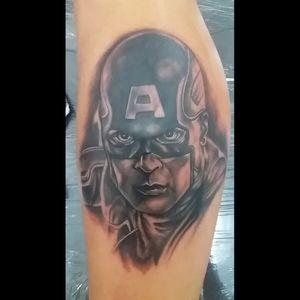 #dccomics #tattoodoo #tattoodo #tatoodo #blackandgrey #realism #tattoo