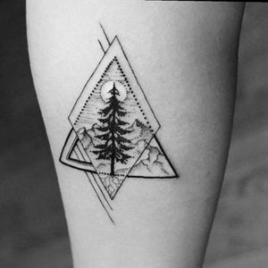 #TwinMonkey #tree #geometric #nature