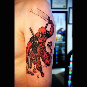 #Deadpool #finalfantasy #bluerosestudio