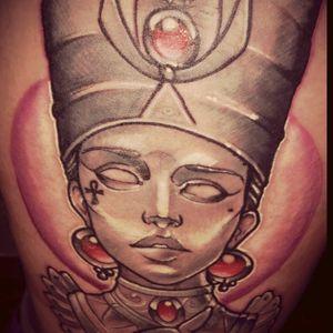 #queennefertiti #nefertiti #egipciantatoo #upperleg