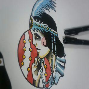 Paint #tattooflash #traditionaltattooflash #tattooart #tattooartist #circus #circustattoo #traditionaltattoos #tattoodesign #traditionaltattoo #tattoorj #oldschooltattoo #oldschool