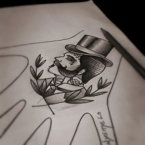 Projeto #drawing #sketch #sketchtattoos #customtattoos #classictattoos #tattoo #tatuagem #tattoos #tattooart #tattooartist #oldschooltattoo l #traditionaltattoos #tattoodesign #traditionaltattoo