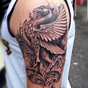 Realistic liver bird #lfc #ynwa #tattoorealism #liverpool #liverbird